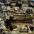 Pillar - Bali, Indonesia by Stephen Permezel