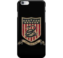 Don't Tread On Me Soccer iPhone Case/Skin