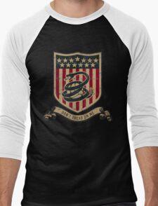 Don't Tread On Me Soccer Men's Baseball ¾ T-Shirt
