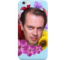 Steve Buscemi - Floral iPhone Case/Skin