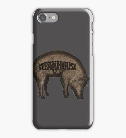 Steakhouse redneck rockin' band 3 iPhone Case/Skin