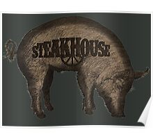Steakhouse redneck rockin' band 3 Poster