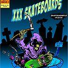 Grim Reaper comic cover by krayola