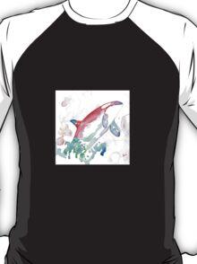 Rainbow orca whale dolphin T-Shirt