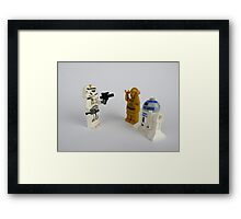 Star Wars Characters Framed Print