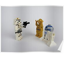 Toy Figure Characters Poster