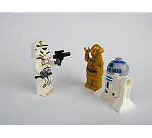 Star Wars Characters Photographic Print