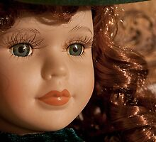 beautiful vintage scarlett o'hara toy doll by nitakphoto
