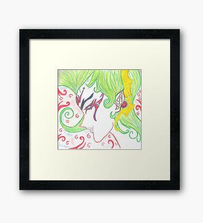 YU-GI-OH Framed Print