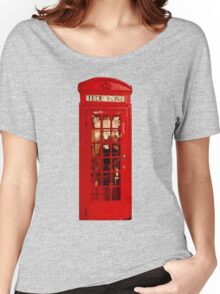 London telephone box Women's Relaxed Fit T-Shirt