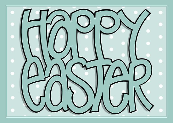 Happy Easter green by Mariana Musa
