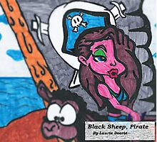 Pirate, Black Sheep Photographic Print