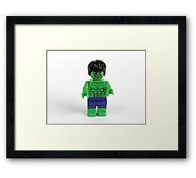The Incedible Hulk Framed Print