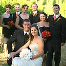 Mark Flueur & wedding party by Jeff D Photography