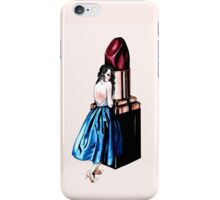 Evelyn Plum iPhone Case/Skin