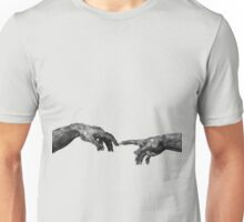 The Creation of Adam - {Connection} Unisex T-Shirt