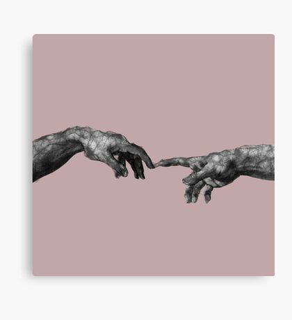 The Creation of Adam - {Connection} Canvas Print