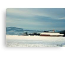 Bavarian Winter Canvas Print
