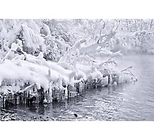 Curtain of Ice Photographic Print