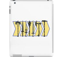 Skyrim - Steel Weapons iPad Case/Skin