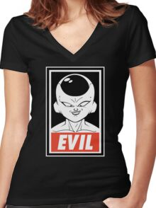 Evil perfect Women's Fitted V-Neck T-Shirt