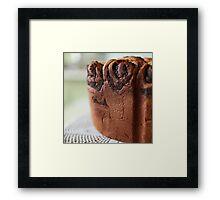 crispy cake Framed Print