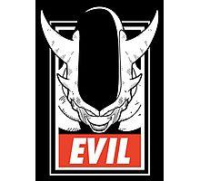 Evil 3er Photographic Print