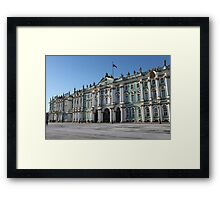 Winter Palace  Landmarks of St. Petersburg Framed Print