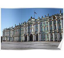 Winter Palace  Landmarks of St. Petersburg Poster