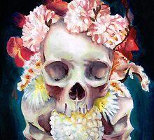 Flowers for Skulls by Ihazart