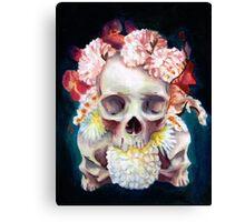Flowers for Skulls Canvas Print
