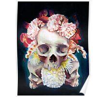 Flowers for Skulls Poster