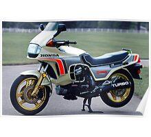 1982 Honda CX500T Poster