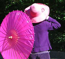 Pink Parasol by NicolaM