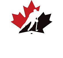canada hockey Photographic Print