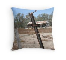 Nowhere Throw Pillow