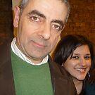 Meeting Rowan Atkinson by karenuk1969