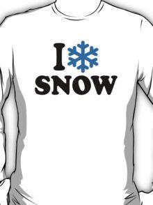 I love snow T-Shirt