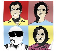 The Top Gear Team - POP Art Poster