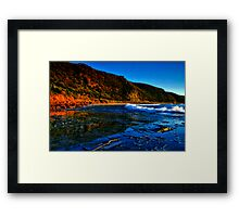 """Reflections at Cathedral Rock"" Framed Print"