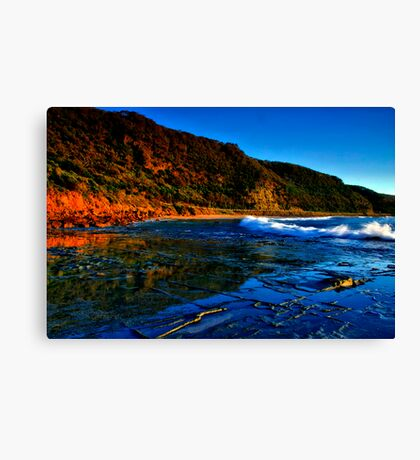 """Reflections at Cathedral Rock"" Canvas Print"