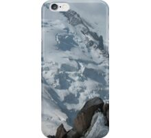 Panorama of Mont Blanc du Tacul, Mont Maudit and Mont Blanc iPhone Case/Skin