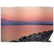 Morning Dawn Salton Sea Poster