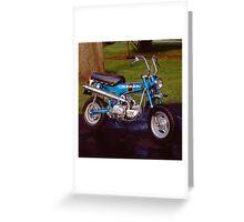 1970 Honda CT 70 Greeting Card