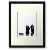 Jay and Silent Bob at the Quick Stop Framed Print