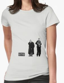 Jay and Silent Bob at the Quick Stop Womens Fitted T-Shirt