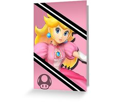 Peach-Smash 4 Phone Case Greeting Card
