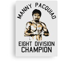 eight division champion Canvas Print