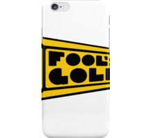 Miami Gold iPhone Case/Skin
