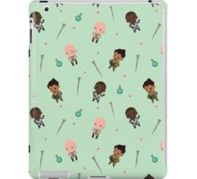 Cute Mage Party Pattern  iPad Case/Skin